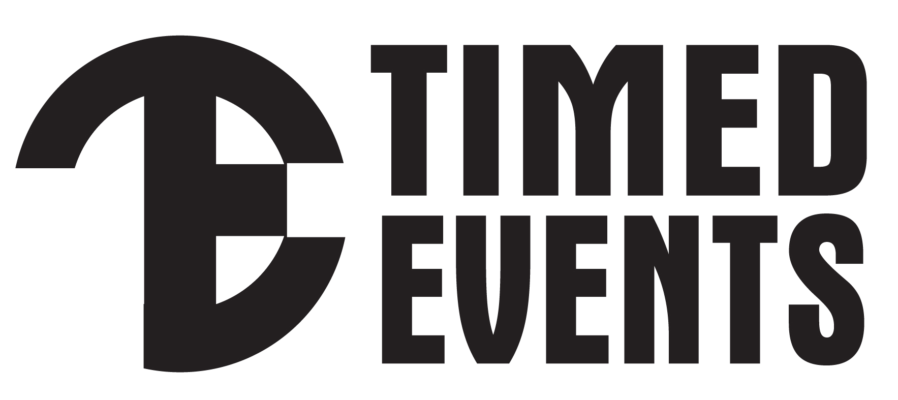 Timed Events Logo Horz